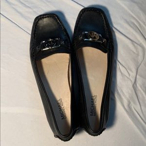 Michael Kors NWOT Sz 8.5 Black Patent Loafer Flats